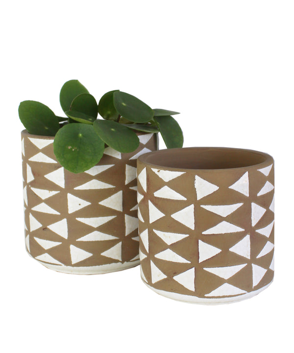 Geometric Triangle Planter