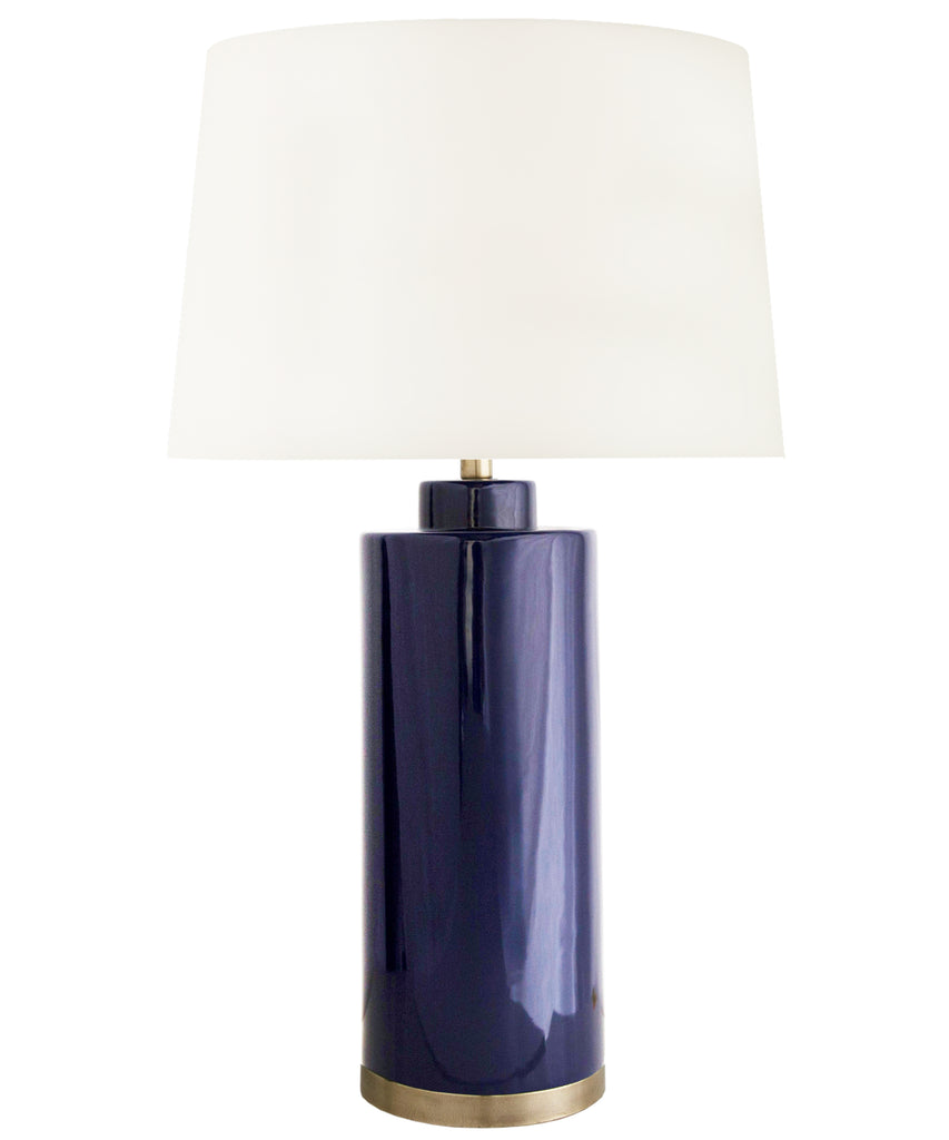 Truman Table Lamp, Navy