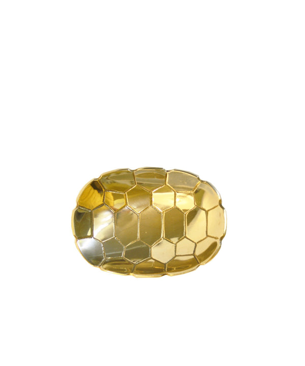 Small Brass Turtle Shell Dish