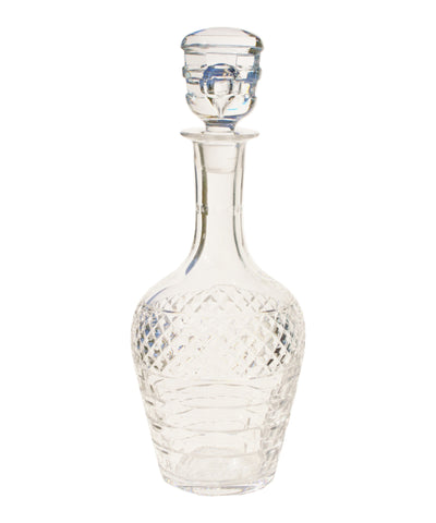 Antique Hawkes Crystal Decanter with Finial