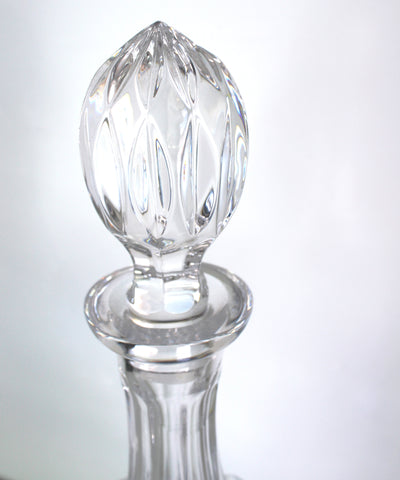 Vintage Crystal Decanter with Finial