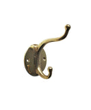 Vintage Brass Double Wall Hook