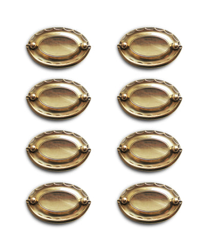 Vintage Brass Drop Pulls