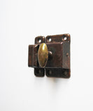 Antique Pair of Cabinet Latch Sets