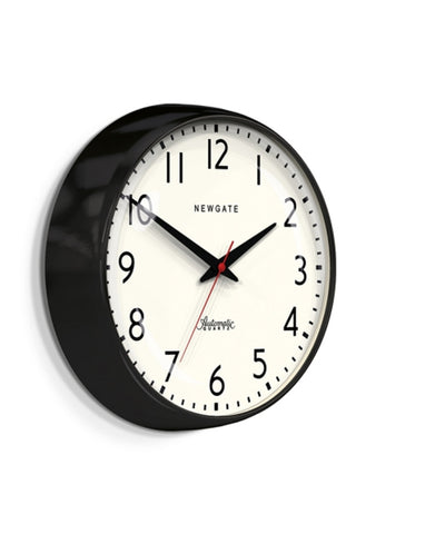 The Watford Wall Clock, Black