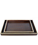 Wood and Bone Trim Tray