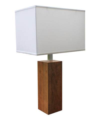 Winston Wooden Table Lamp, Tall
