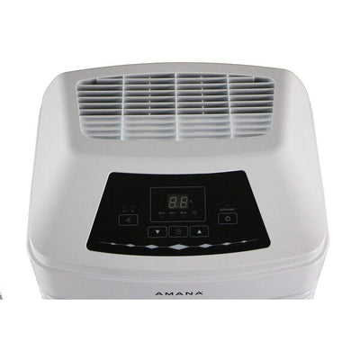 Amana AMAD501AW 50 Pint Dehumidifier with Built-in Pump, White Dehumidifier Amana