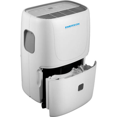 Emerson Quiet Kool EAD50E1 50 Pint Dehumidifier, White Dehumidifier Emerson Quiet Kool