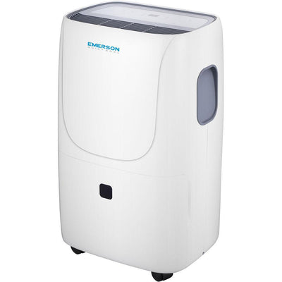 Emerson Quiet Kool EAD70E1 70 Pint Dehumidifier, White Dehumidifier Emerson Quiet Kool