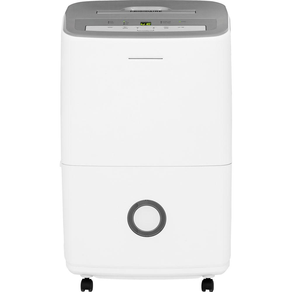 Frigidaire30 Pint Dehumidifier30-Pint Dehumidifier with Effortless Humidity Control, White Dehumidifiers|Dehumidifiers Frigidaire