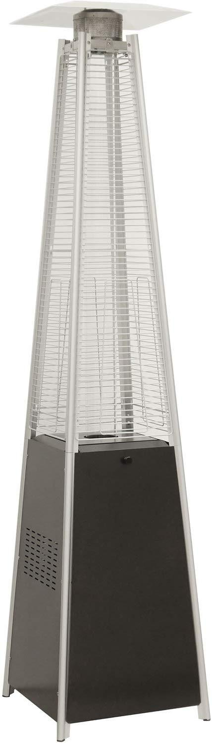 Hanover HAN101BLK 42000 BTU Pyramid Propane Patio Heater, Black Heaters|Patio Heaters Hanover Black