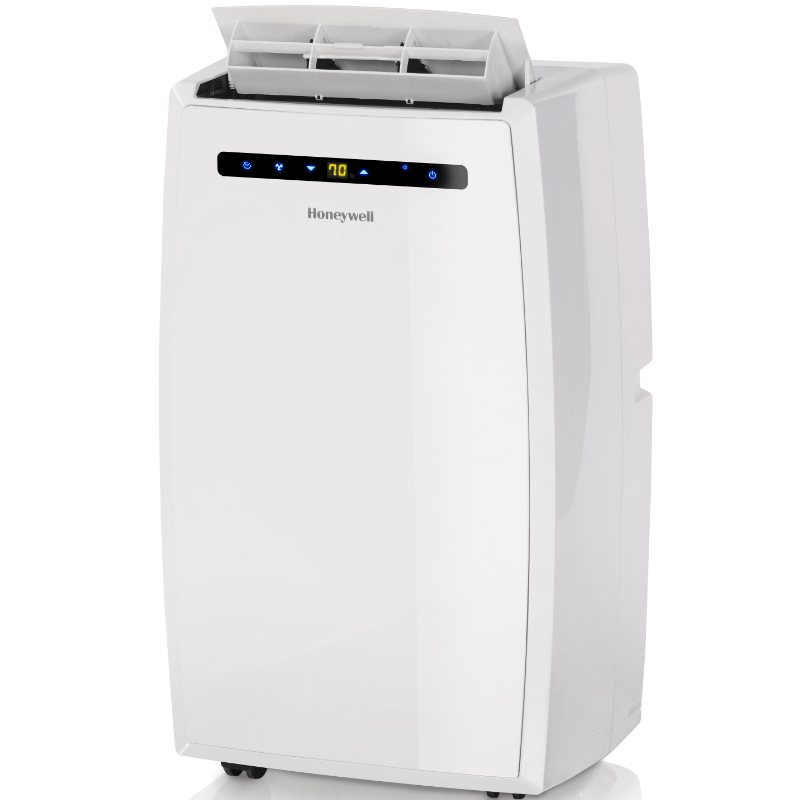 Honeywell 10000 BTU Quiet Dual Hose Portable Air Conditioner with 66 Pint Dehumidifier (Classic Series) Portable Air Conditioner Honeywell
