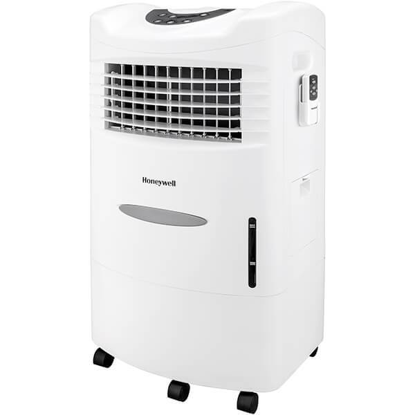 Honeywell 470CFM Indoor Evaporative Air Cooler with Remote Control Evaporative Air Cooler Honeywell White