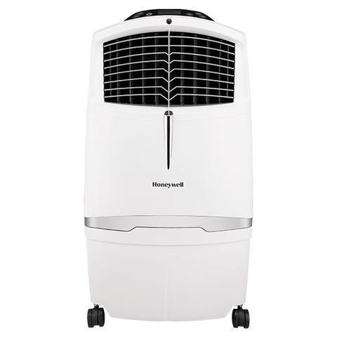 Honeywell CL30XCWW 525CFM 320 sq. ft. Indoor Evaporative Air Cooler with Remote Control, White Evaporative Air Cooler Honeywell White