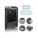 Honeywell CO610PM 2100CFM 850 sq. ft. Indoor/Outdoor Weatherproof Evaporative Air Cooler, Black Evaporative Air Cooler Honeywell