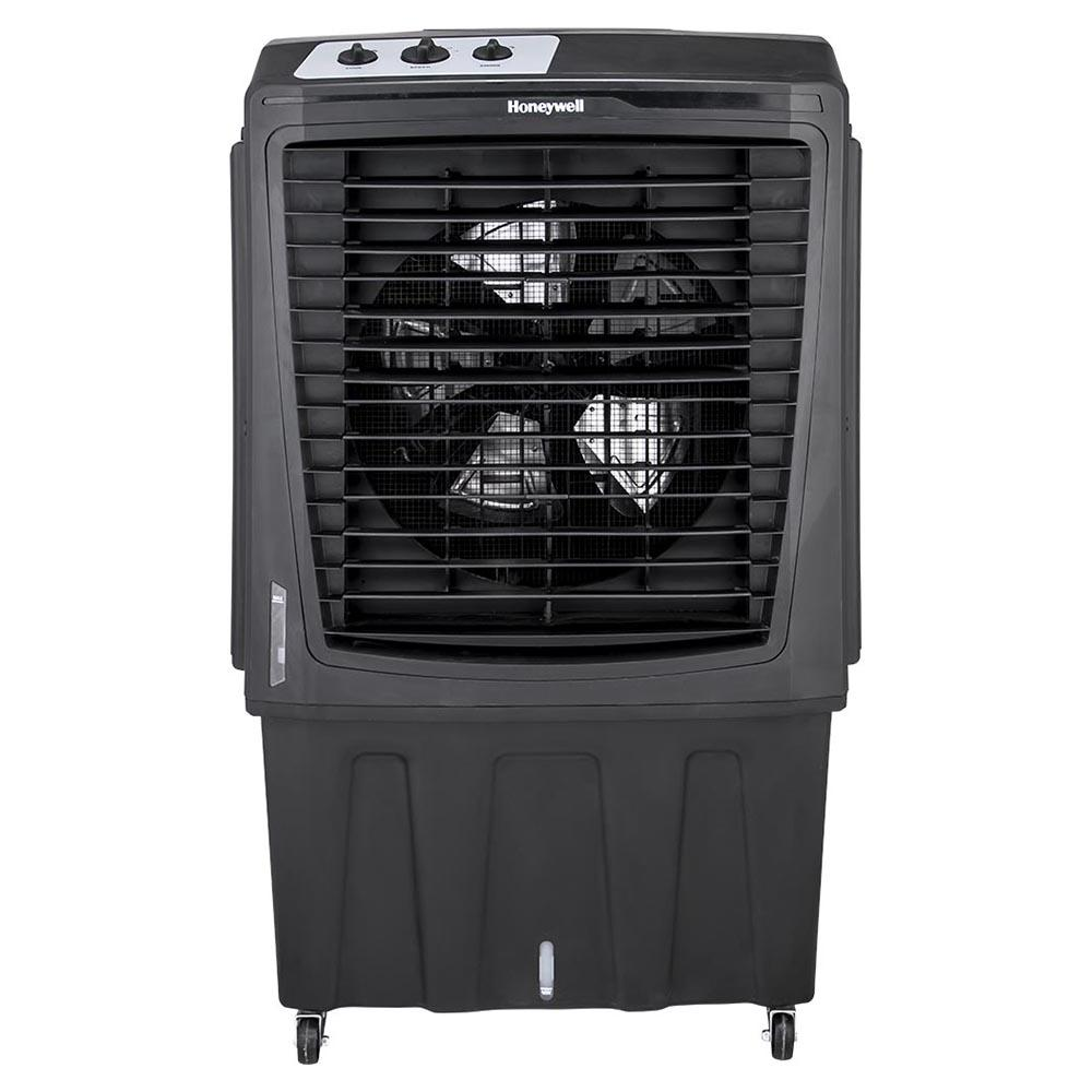 Honeywell CO810PM 2800CFM Outdoor Weatherproof Evaporative Air Cooler, Black Evaporative Air Cooler Honeywell