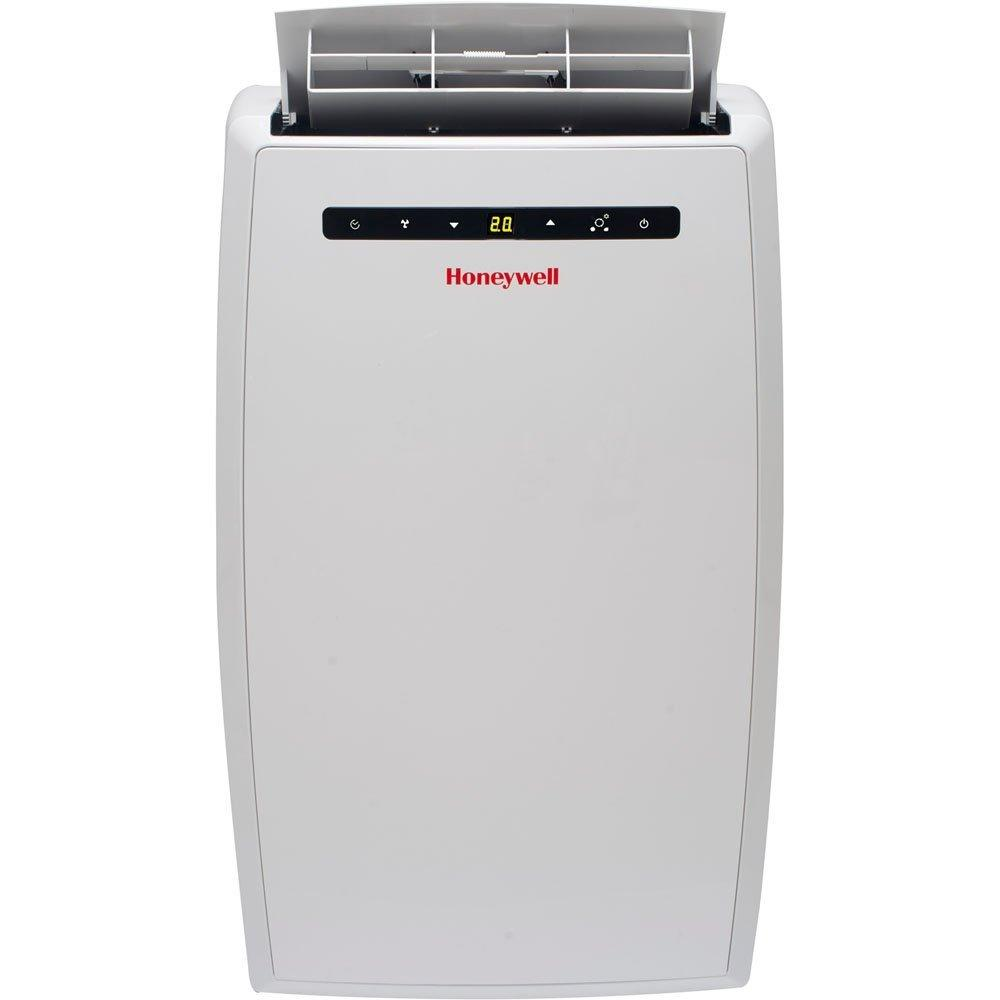 Honeywell MN10CESWW 10000 BTU 450 sq. ft. Quiet Portable Air Conditioner with 66 Pint Dehumidifier (Classic Series), White Portable Air Conditioner Honeywell