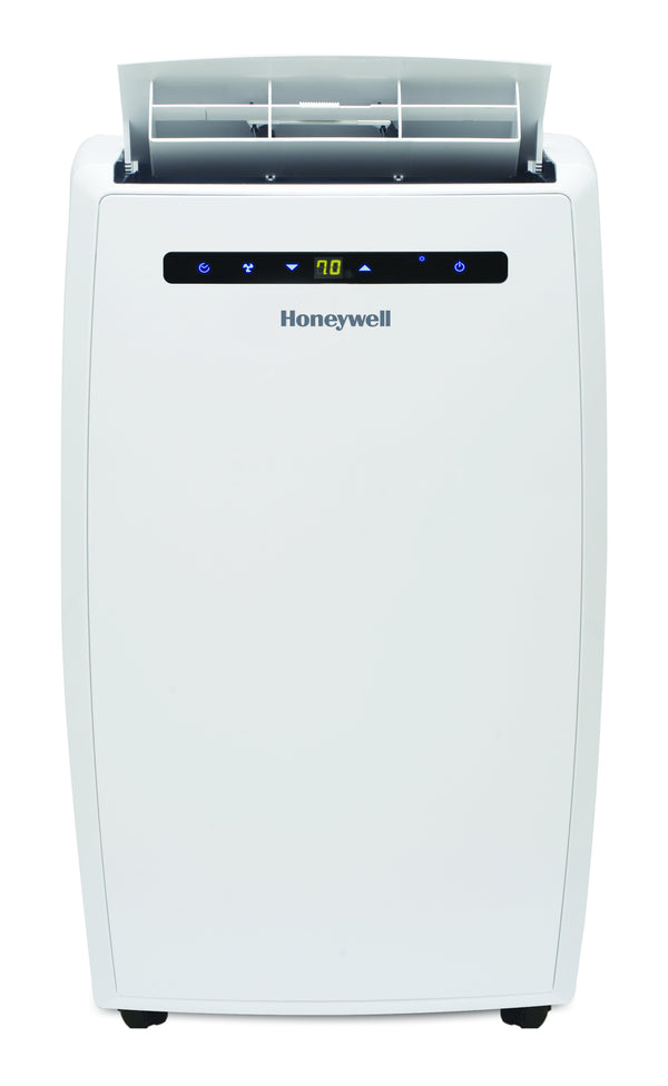 Honeywell MN10CHESWW 10000 BTU 450 sq. ft. Quiet Portable Air Conditioner with 64 Pint Dehumidifier and Heat Pump (Classic Series) Portable Air Conditioner Honeywell