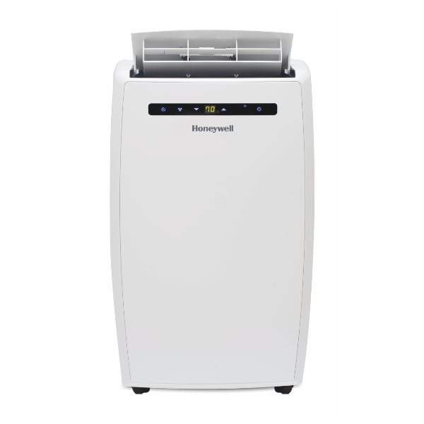 Honeywell MN12CHESWW 12000 BTU 550 sq. ft. 4-in-1 Quiet Portable Air Conditioner with 68 Pint Dehumidifier and Heat Pump (Classic Series), White Portable Air Conditioner Honeywell