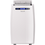Honeywell MN14CCDWW 14000 BTU 700 sq. ft. Dual Hose Portable Air Conditioner with 95 Pint Dehumidifier (Classic Series), White Portable Air Conditioner Honeywell White