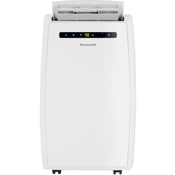 Honeywell MN14CEDWW 14000 BTU 700 sq. ft. Dual Hose Portable Air Conditioner with 95 Pint Dehumidifier (Classic Series), White Portable Air Conditioner Honeywell White