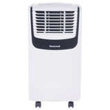 Honeywell MO08CESWS 8000 BTU 350 sq. ft. 3-in-1 Quiet Portable Air Conditioner (Compact Series), Silver Portable Air Conditioner Honeywell
