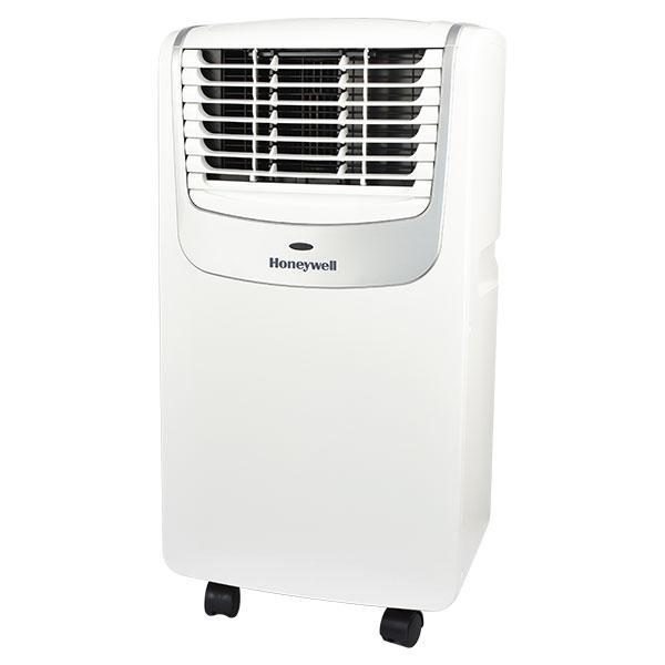 Honeywell MO08CESWS 8000 BTU 350 sq. ft. 3-in-1 Quiet Portable Air Conditioner (Compact Series), Silver Portable Air Conditioner Honeywell Silver