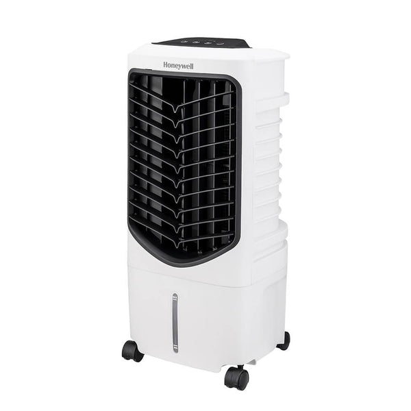 Honeywell TC09PEU 200 CFM Indoor Evaporative Air Cooler White Evaporative Air Cooler My Home Climate