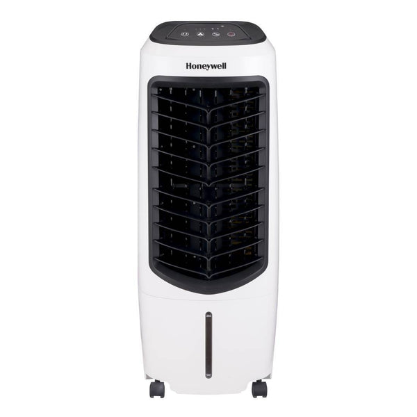 Honeywell TC10PEU 194 CFM Indoor Evaporative Air Cooler White Evaporative Air Cooler My Home Climate