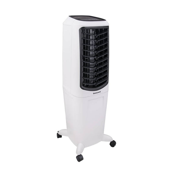 Honeywell TC30PEU 470 CFM Indoor Evaporative Air Cooler White Evaporative Air Cooler My Home Climate
