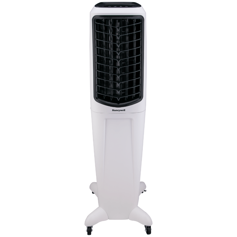 Honeywell TC50PEU 588 CFM Indoor Evaporative Air Cooler White Evaporative Air Cooler My Home Climate