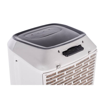Honeywell TC50PEU 588 CFM Indoor Evaporative Air Cooler White My Home Climate