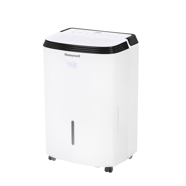 Honeywell TP50AWKN 50 Pint (30 Pint DOE 2019 Standard) Smart Dehumidifier, White Dehumidifier Honeywell