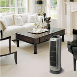 Lasko 5538 Oscillating Ceramic Heater with Digital Display Save-Smart Technology and Remote Control, Gray Heaters|Space Heaters Lasko