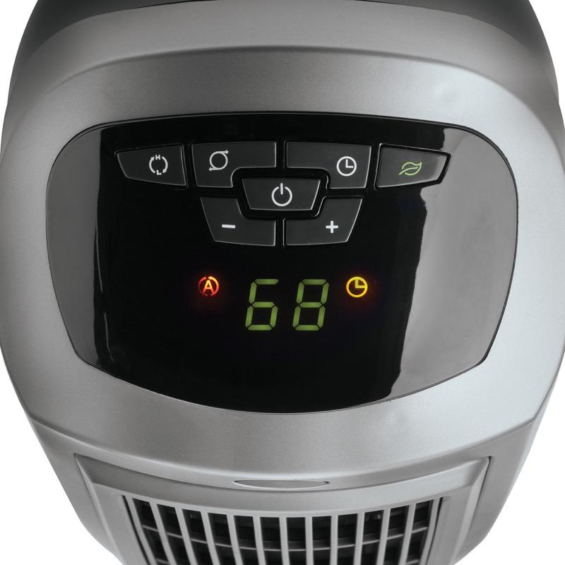 LaskoOscillating Ceramic Heater with Digital Display, Save-Smart Technology23 In. Digital Ceramic Tower Heater with Save-Smart Technology and Remote Control, Gray Heaters & Fans|Heaters Lasko
