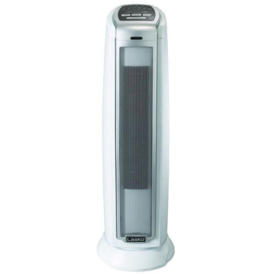 Lasko 5775 1500W Ceramic Tower Heater with Overheat Protection, White Heaters|Space Heaters Lasko
