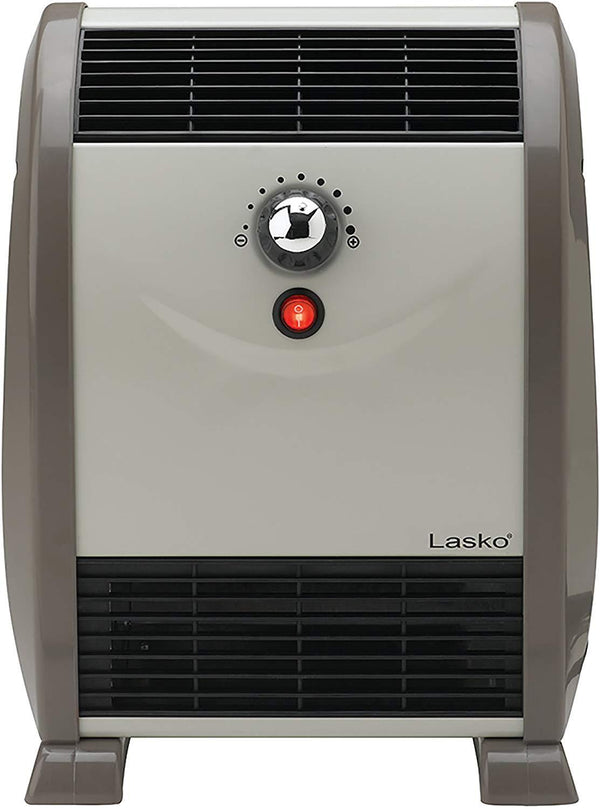 Lasko 5812 750W Automatic Air-Flow Electric Space Heater, Graphite Heaters|Space Heaters Lasko