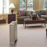Lasko 758000 1500W Cyclonic Ceramic Heater with Glide System Pivot, White Heaters|Space Heaters Lasko