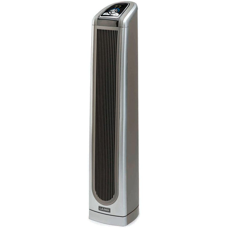 LaskoElectronic Ceramic Tower Heater with Logic Center RemoteElectronic 34 In. Ceramic Tower Heater with Logic Center Remote Control Heaters & Fans|Heaters Lasko
