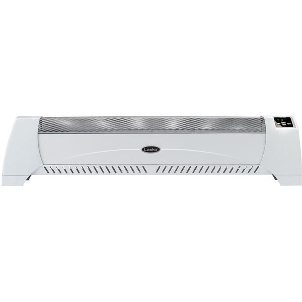 LaskoLow-profile heater with digital displaySilent Low-Profile Room Heater with Digital Display, White Heaters & Fans|Heaters Lasko