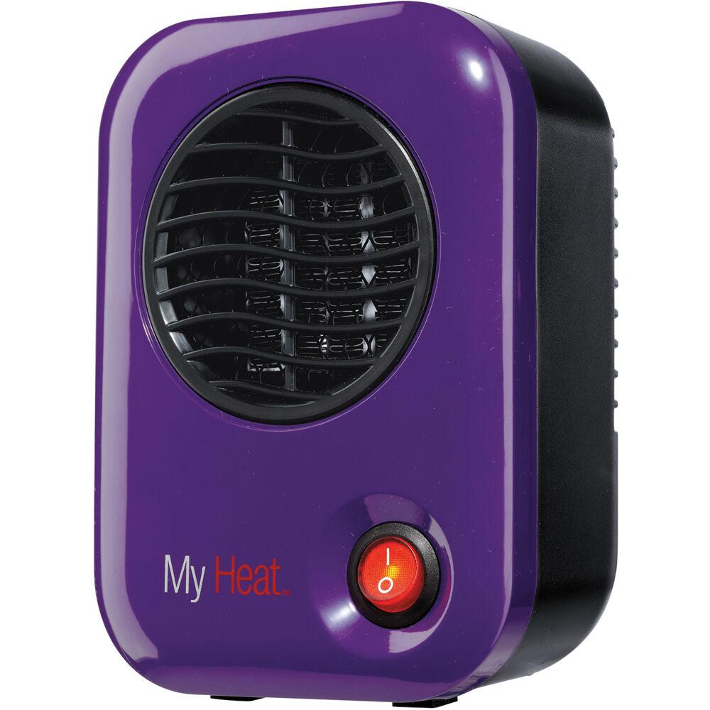 LaskoMy Heat Personal Heater, Energy-SmartMyHeat 200W Personal Ceramic Heater, Purple Heaters & Fans|Heaters Lasko
