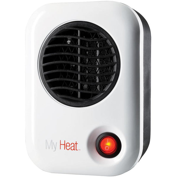 LaskoMy Heat Personal Heater, Energy-SmartMyHeat 200W Personal Ceramic Heater, White Heaters & Fans|Heaters Lasko