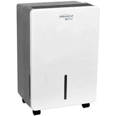 SoleusAir70 Pint Dehumidifier70-Pint Portable Dehumidifier in White/Gray Dehumidifiers|Dehumidifiers Soleus AC