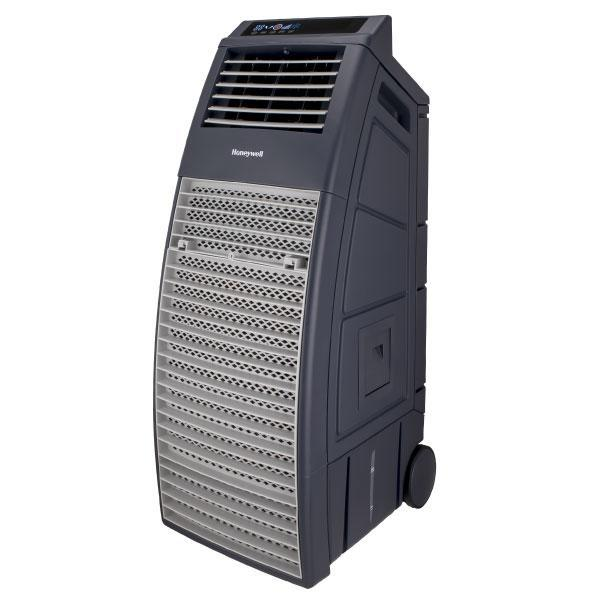 x2 Honeywell Powerful Outdoor Evaporative Air Cooler with Beverage & Storage Compartment Evaporative Air Cooler Honeywell