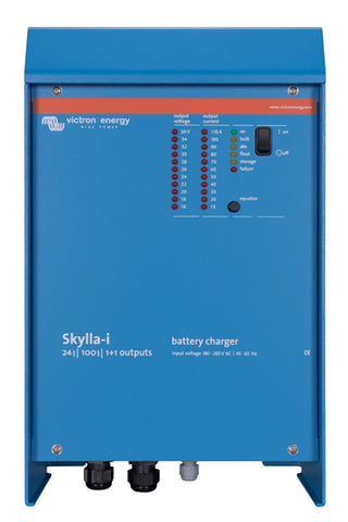 Victron Skylla i Battery bank Charger - 24 V / 80 to 100 A Output