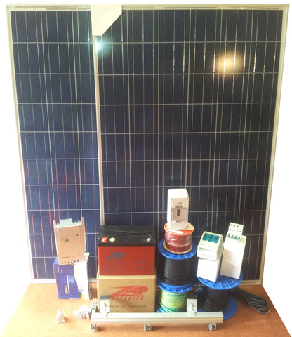 Ecotronics Offgrid 'Tiny Home' Kit - 560 W PV / 5 KW Bank / 2000 w Inverter