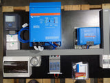 Pylontech & Victron 'Tiny' Home Off Grid System - 3 kVa Inverter / 1.62 Kw PV / 3.55 kWh LiFePO4 Battery