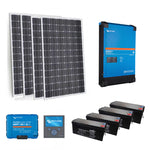 Victron Off Grid System ' Ultimate Budget' 1.65KW - 3 Kva Inverter Charger / 11 KWH AGM Bank