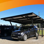 Clenergy Carport Structure.